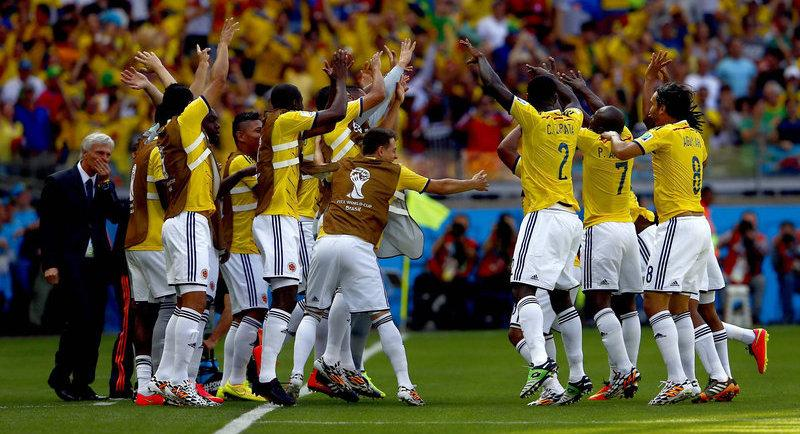Colombia Show Skill and Passion Against Greece