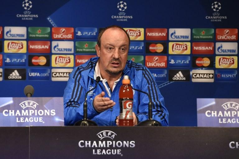 Rafa Benitez and Real Madrid face a crucial match against PSG in the UEFA Champions League