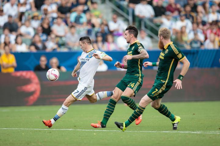 The Galaxy-Portland Timbers tilt looked like a typical LA home match, except it wasn't