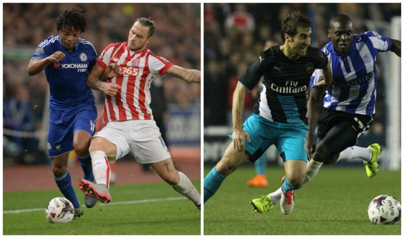 Stoke add to Mourinho woe, Wednesday stun Arsenal