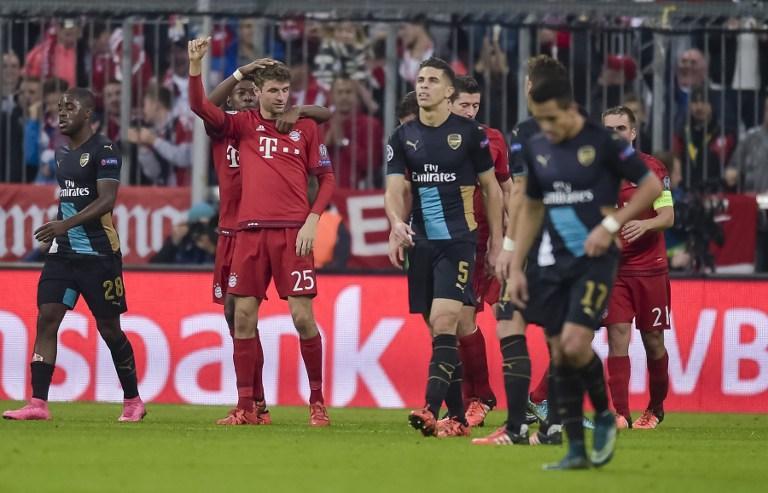 Bayern Munich vs Arsenal, UEFA Champions League