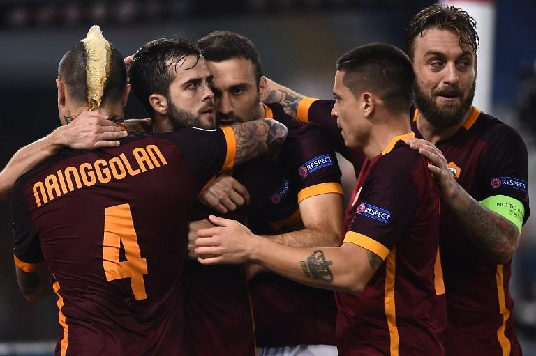Roma win 3-2 in the UCL group stage against B. Leverkusen