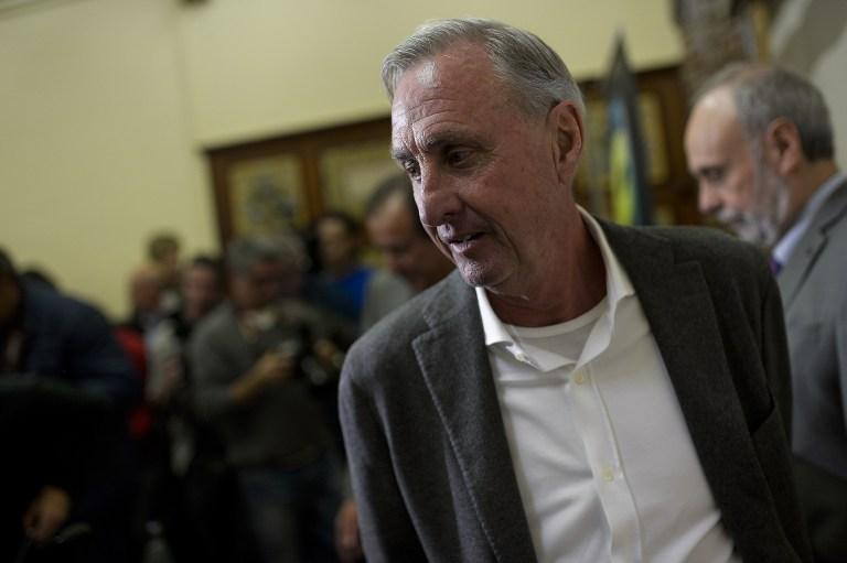 "Johan Cruyff is ""convinced"" he will come through his fight against lung cancer."
