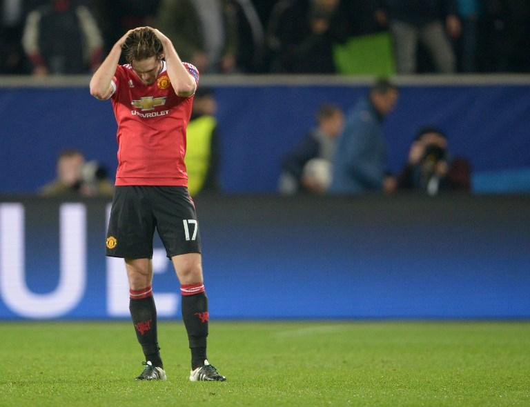 Manchester United crash out of the Champions League