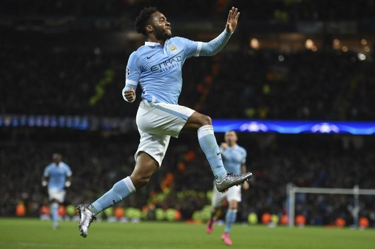 Raheem Sterling helps Manchester City earn the top spot in their group