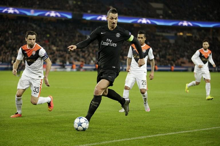 Zlatan Ibrahimovic helps PSG seal win over Shakhtar