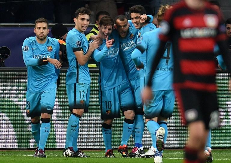 Bayer Leverkusen strike out of the Champions League after draw against Barcelona