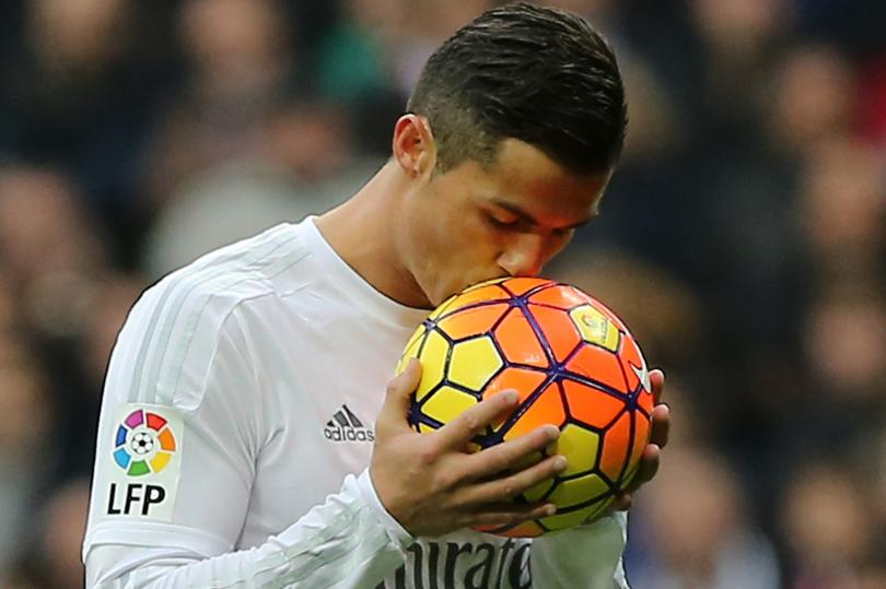 Cristiano Ronaldo, Real Madrid striker