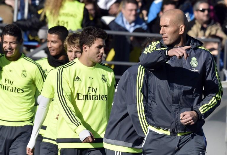 Zinedine Zidane, new Real Madrid coach