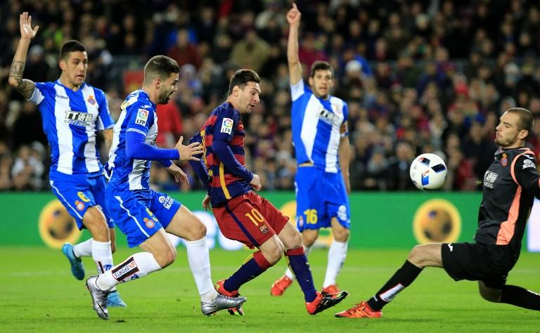 Lionel Messi, Barcelona, Spanish Cup