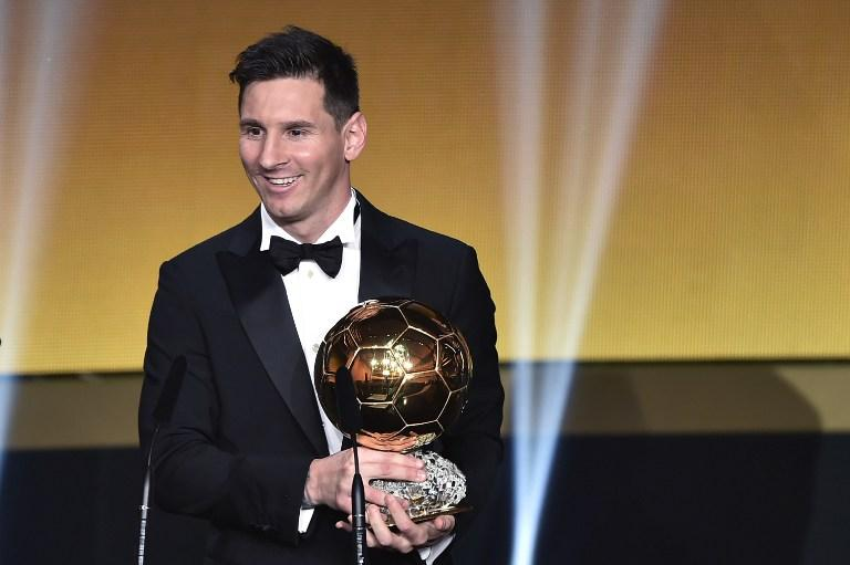 Lionel Messi, Best Player of the Year 2015