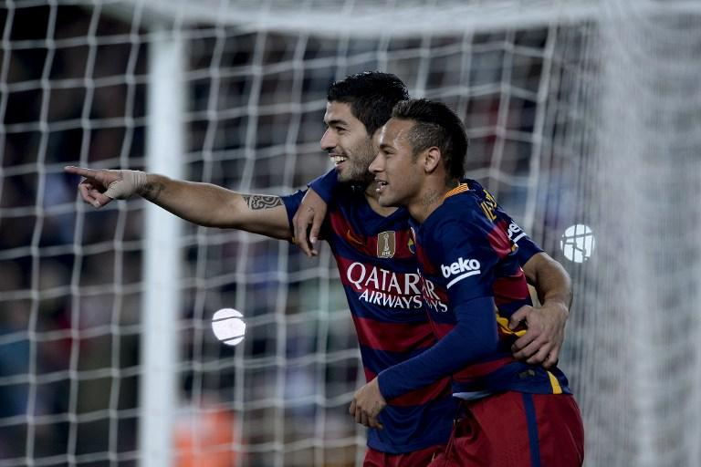 Luis Suarez and Neymar, Barcelona
