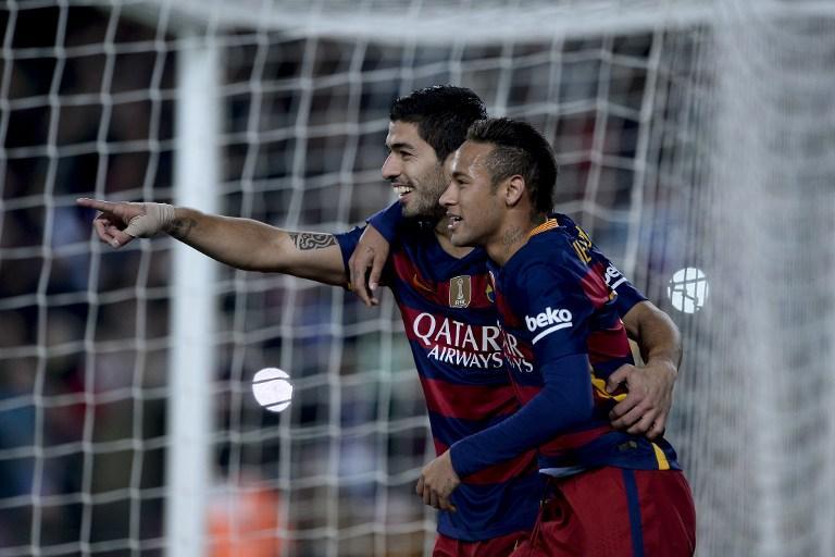 Luis Suarez and Neymar, Barcelona