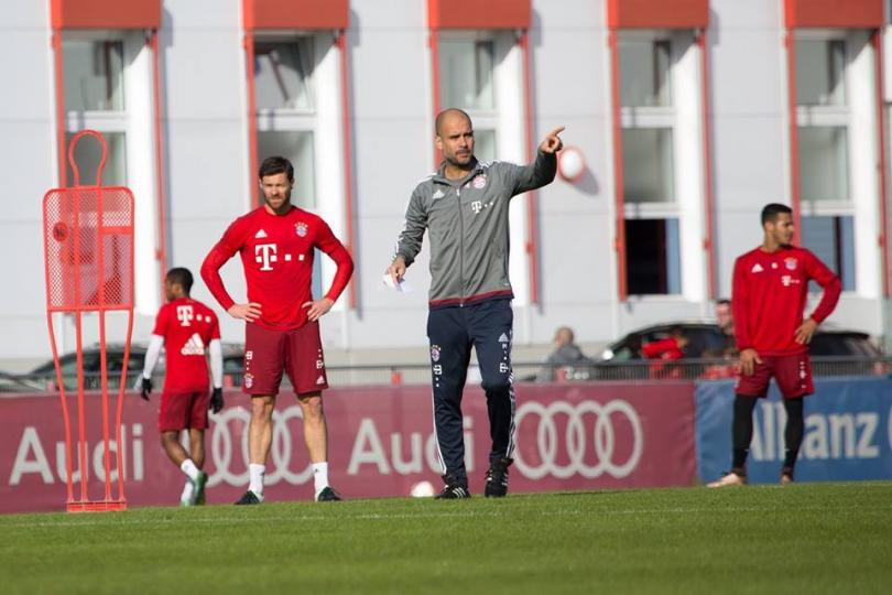Spanish manager Pep Guardiola