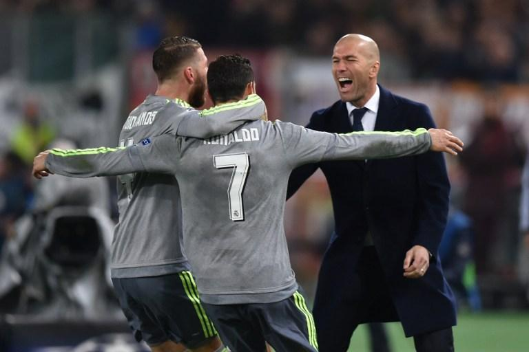 Real Madrid beat Roma in the round of Last 16