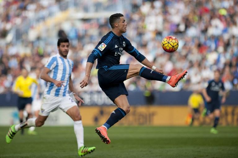 Malaga vs Real Madrid, La Liga