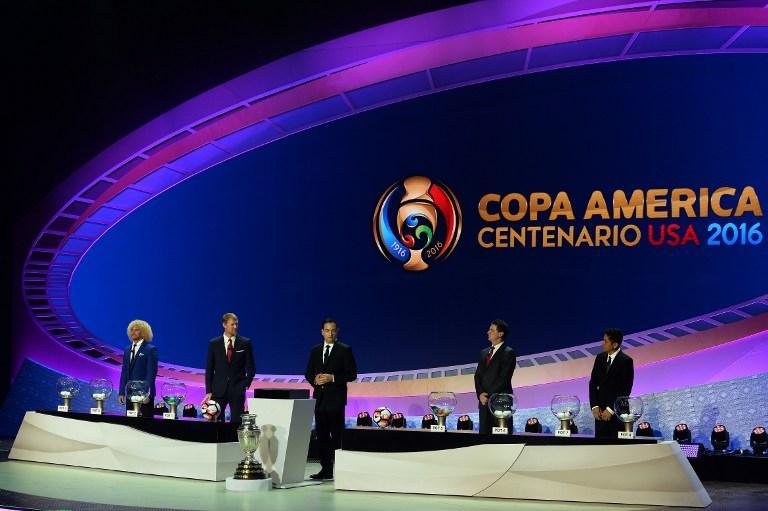 Copa America Centenario 2016 draw