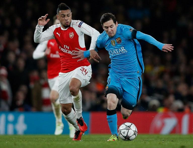 Arsenal vs Barcelona, Champions League