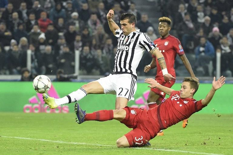 Juventus vs Bayern Munich, Champions League