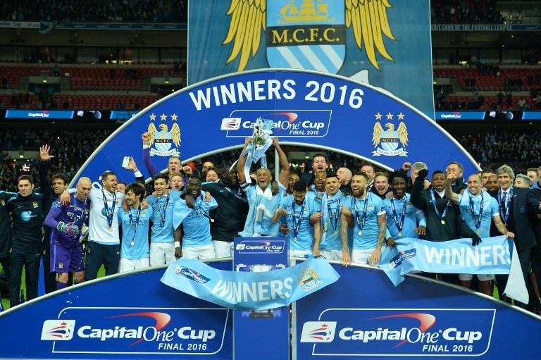 Manchester City, League Cup Champions 2016