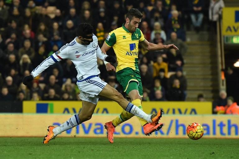 Diego Costa, Norwich vs Chelsea