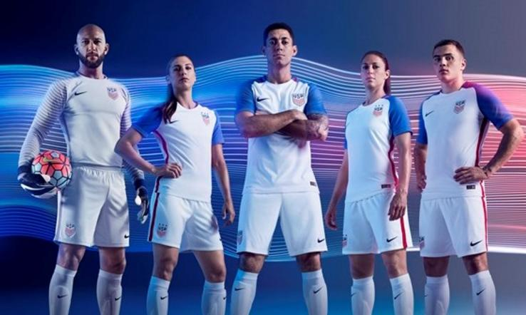 US Soccer unveils new 2016 kits