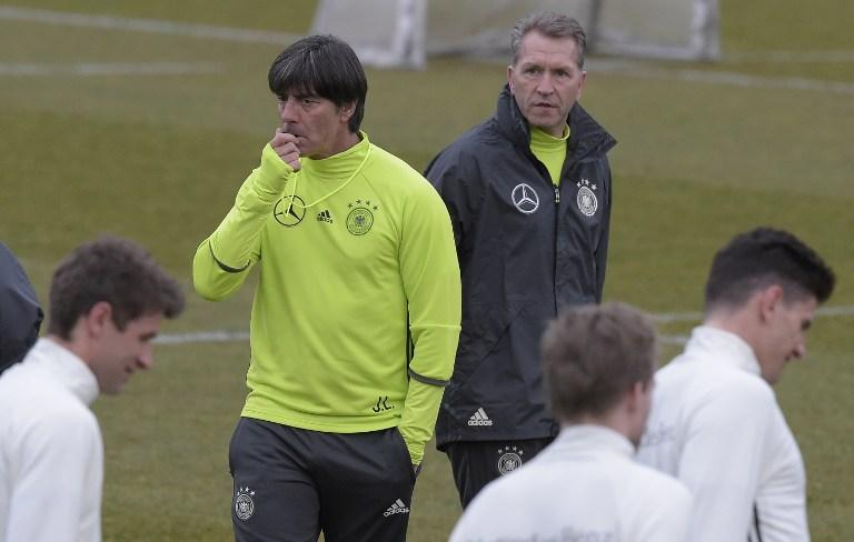 Germany National Team training