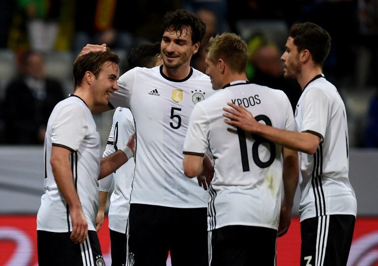 Germany vs Italy, International friendly