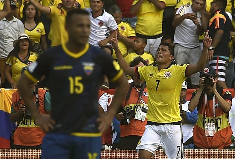 Colombia vs Ecuador, CONMEBOL Qualifiers