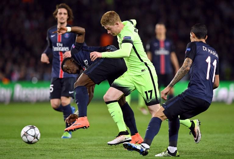 PSG vs Manchester City, Champions League