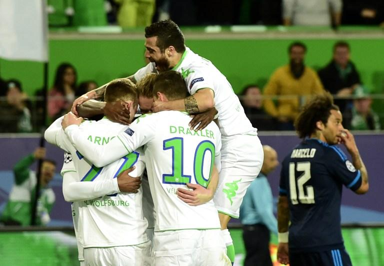 Wolfsburg vs Real Madrid, Champions League