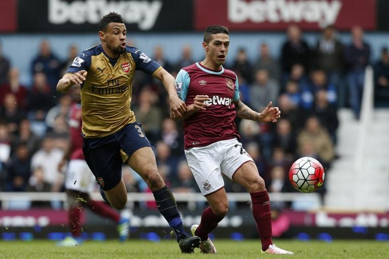 West Ham vs Arsenal, Premier League