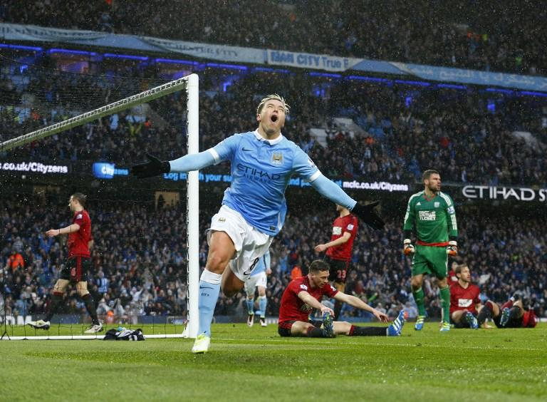 Manchester City vs West Bromwich, Premier Lueague