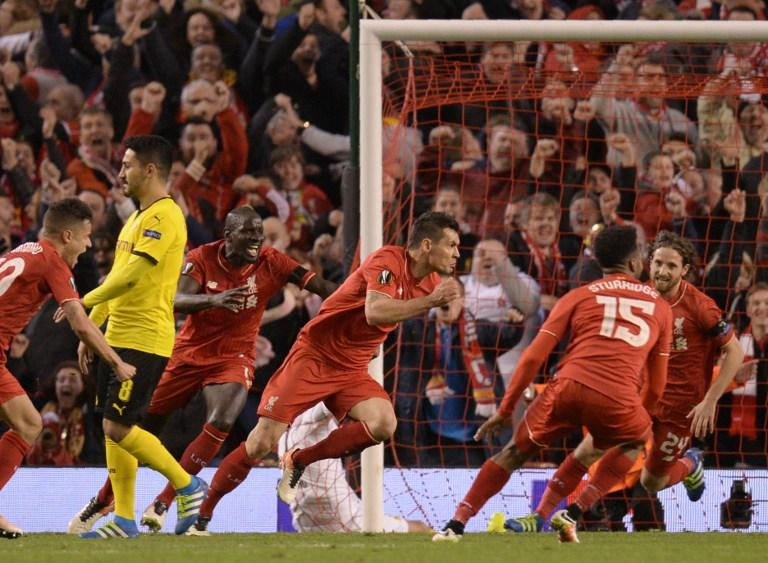 Liverpool vs Borussia Dortmund, Europa League