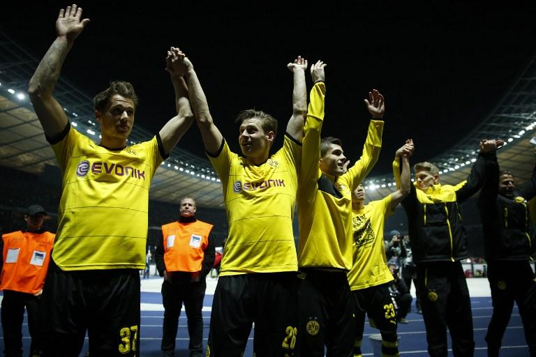 Borussia Dortmund reached the final of the German Cup