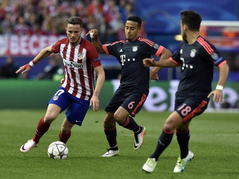 Atletico Madrid vs Bayern Munich, Champions League Semifinal, First Leg