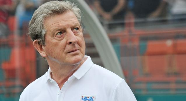 Jun 7, 2014; Miami Gardens, FL, USA; England coach Roy Hodgson looks on before a game against Honduras at Sun Life Stadium. Mandatory Credit: Steve Mitchell-USA TODAY Sports